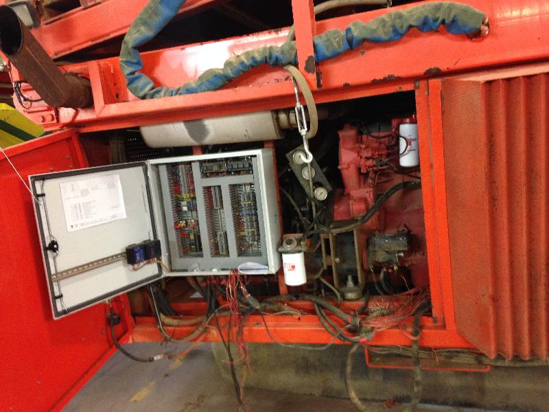 armoire electrique machine agricole
